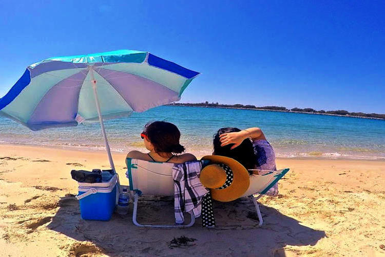 ゴールドコースト離島カヤックツアー(4時...の写真