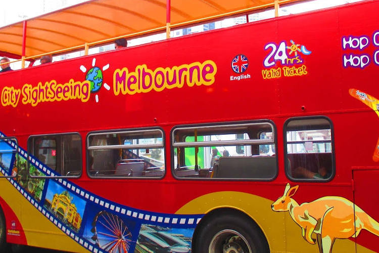メルボルン市内乗り降り自由 観光バス H...の写真