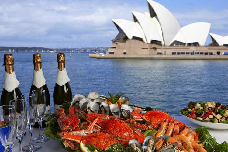 シドニーハーバー ビュッフェランチクルー...の写真