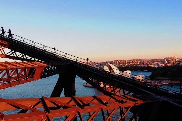 シドニー・ハーバーブリッジ・デイ・クライ...の写真