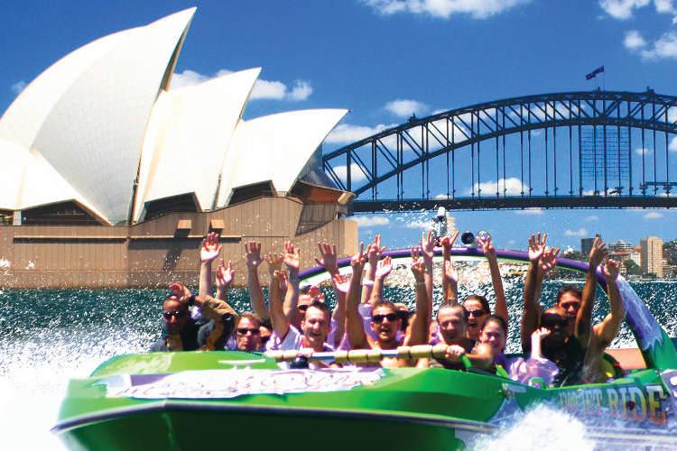 シドニーハーバー・ジェットボートライドの写真