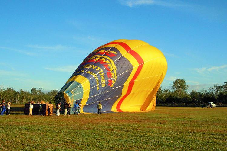 ケアンズ アサートン高原 熱気球(60分...の写真
