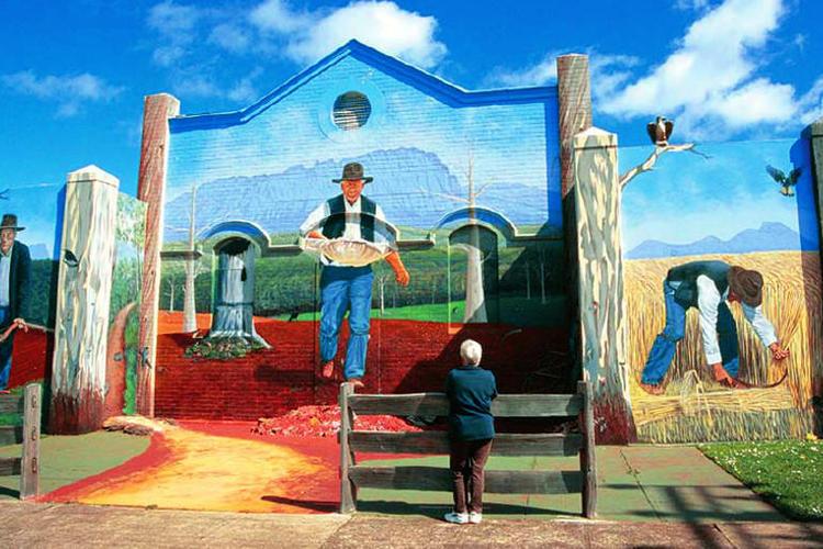 ローンセストン発 世界遺産クレイドル・マ...の写真