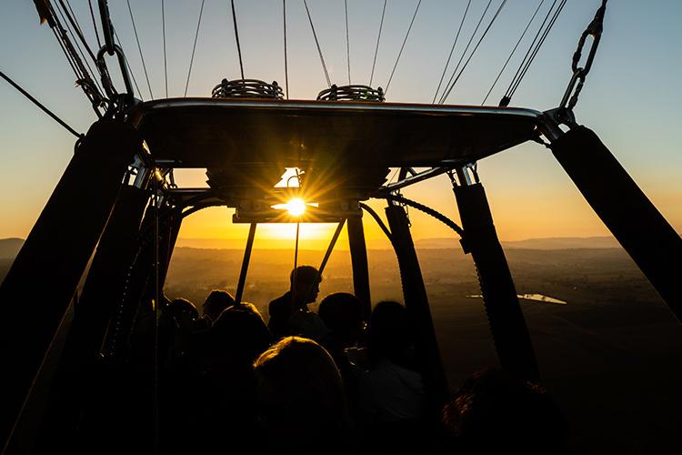 ヒンターランド 熱気球(60分・オライリ...の写真