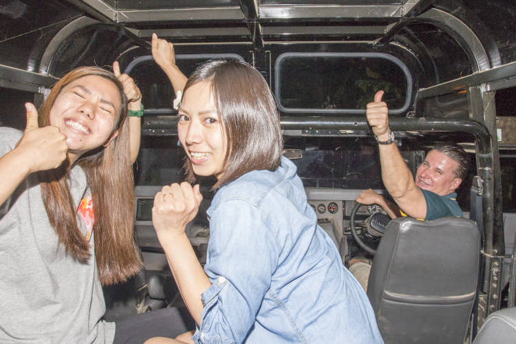 4WDハマー ナイトアドベンチャー(日本...の写真