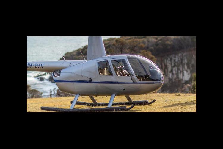 ホバートシティ ヘリコプター遊覧飛行(2...の写真