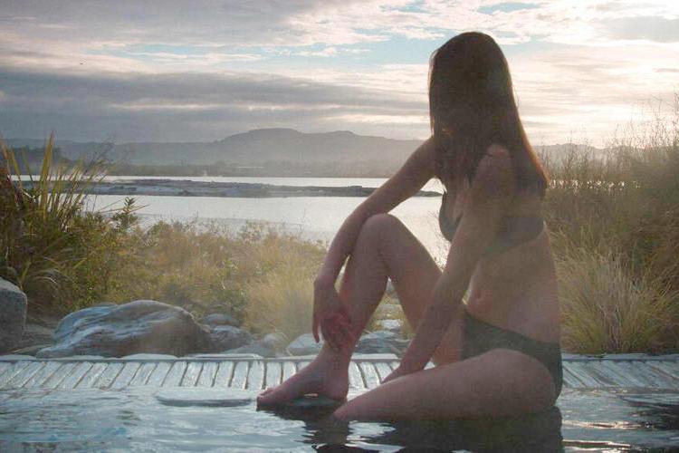 ロトルア温泉ポリネシアンスパの写真